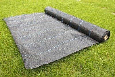 Agrotkanina czarna na chwasty 4x25m (90g)