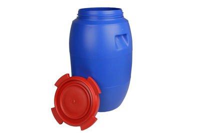 Beczka plastikowa (niebiesko-czerwona) 60 litrów