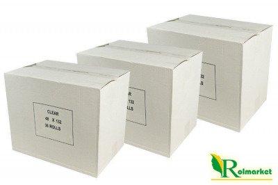 Bezbarwna taśma pakowa, samoprzylepna Eco Solvent 48mm x 60 yd (216szt.)