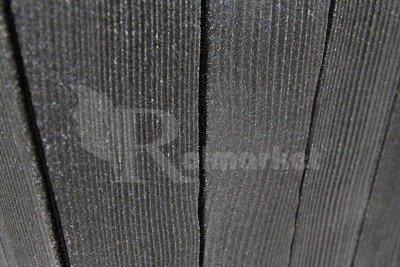Doniczka ogrodowa, okrągła, kolor grafit (antracyt)