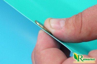Folia do oczek wodnych, stawów i basenów Akwen 500, zielono-niebieska 6x8m