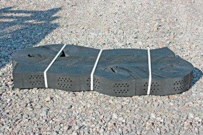 Geokrata komórkowa do stabilizacji dróg, podjazdów, skarp, poboczy 2,6x6,3m - wysokość: 100mm