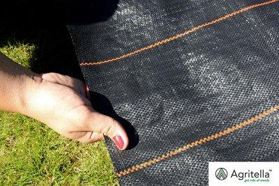 Gruba agrotkanina czarna 1,05x50m 105g
