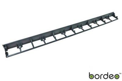 Obrzeże ogrodowe (trawnikowe) Bordeo R5 45 mm x 1 m – kolor czarny