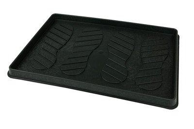 Ociekacz na buty, mocna podstawka 39x56 cm, kolor czarny