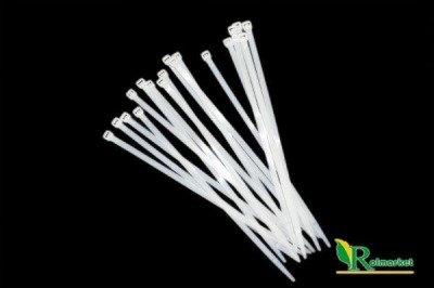 Opaski kablowe białe 7,6x350mm (100 x 100 szt.)