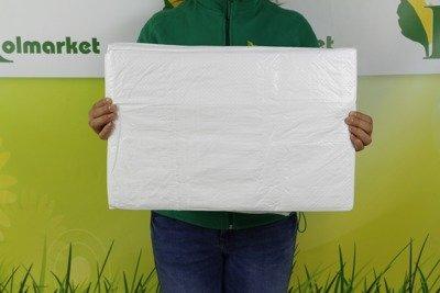 Plandeka okryciowa biała 3x5m