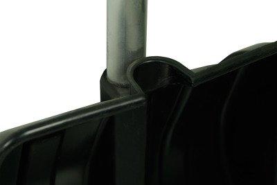 Samochodowa łopata (saperka) do śniegu, odśnieżania Yeti czarna