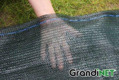 Siatka cieniująca, osłonowa Grandinet na ogrodzenia 1,5x25m 55%