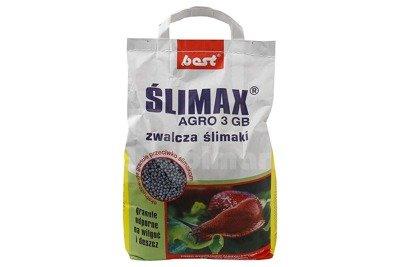 Ślimax AGRO 3GB – środek ślimakobójczy - granulat przeciw ślimakom 5kg