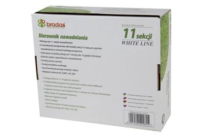 Sterownik nawad. 11 sekcyjny WHITE LINE WL-31S11