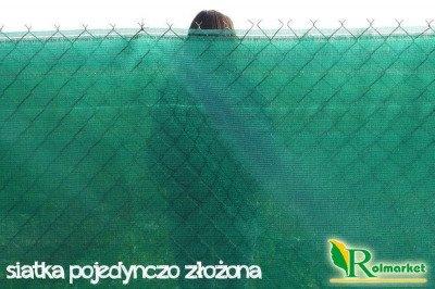 Texanet -  siatka cieniująca, osłonowa na ogrodzenia 1,5x50m 85%